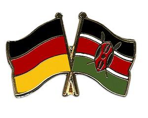 Freundschaftspins Deutschland-Kenia