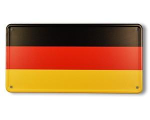 Blechschild Deutschland