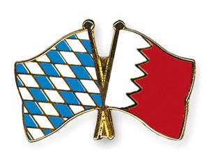 Freundschaftspins Bayern-Bahrain