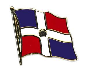 Flaggen-Pins Dominikanische Republik
