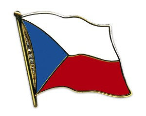 Flaggen-Pins Tschechische Republik