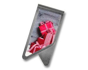Büroklammer DeltaClips Geschenketurm rot