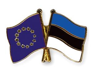 Freundschaftspins Europa-Estland