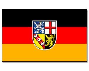 Stock-Flagge Saarland
