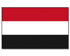 Flagge Jemen