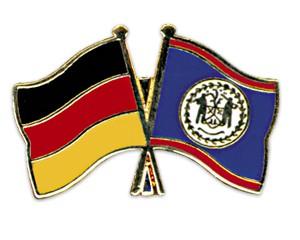 Freundschaftspins Deutschland-Belize