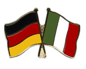 Freundschaftspins Deutschland-Italien