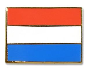 Flaggen-Pins Luxemburg (rechteckig)