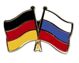 Freundschaftspins Deutschland-Russland