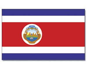 Flagge Costa-Rica