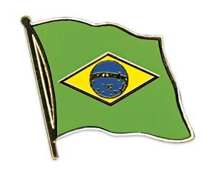 Flaggen-Pins Brasilien