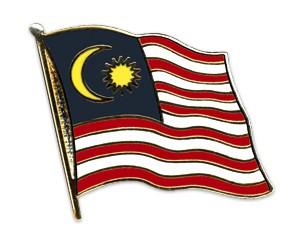 Flaggen-Pins Malaysia