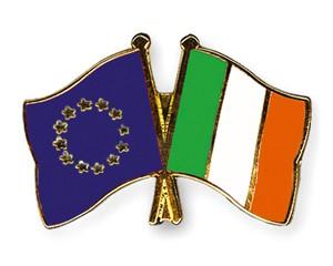 Freundschaftspins Europa-Irland