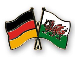 Freundschaftspins Deutschland-Wales