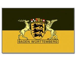 Flagge Baden-Württemberg Großes Landessiegel
