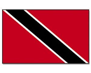 Stock-Flagge Trinidad und Tobago