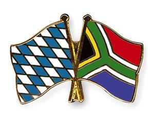Freundschaftspins Bayern-Südafrika