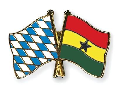 Freundschaftspins Bayern-Ghana
