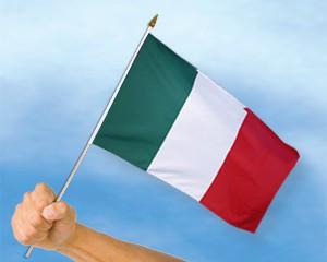Stock-Flagge Italien