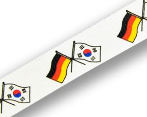 Freundschafts-Schlüsselbänder Deutschland-Südkorea