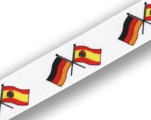 Freundschafts-Schlüsselbänder Deutschland-Spanien