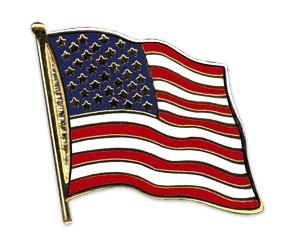 Flaggen-Pins USA