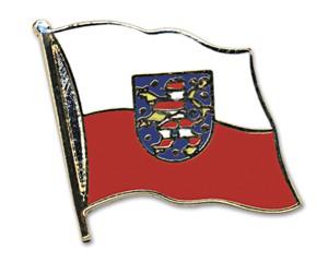 Flaggen-Pins Thüringen