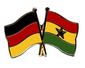 Freundschaftspins Deutschland-Ghana