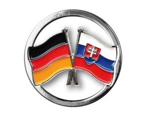 Einkaufswagenchips Deutschland-Slowakei