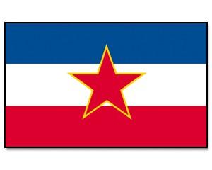 Flagge Jugoslawien