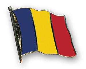 Flaggen-Pins Tschad