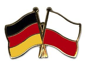 Freundschaftspins Deutschland-Polen