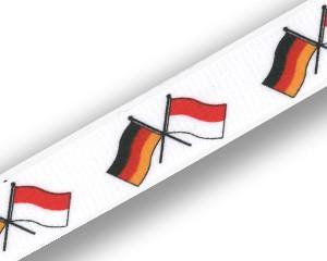 Freundschafts-Schlüsselbänder Deutschland-Indonesien