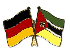 Freundschaftspins Deutschland-Mosambik