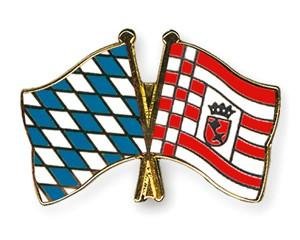 Freundschaftspins Bayern-Bremen