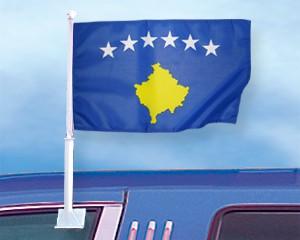 Autoflagge Kosovo
