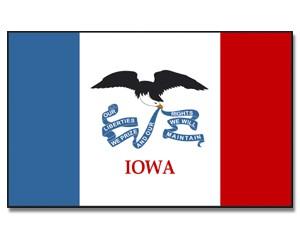 Flagge Iowa