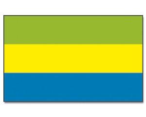 Flagge Gabun