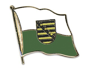 Flaggen-Pins Sachsen
