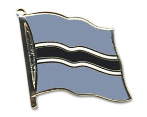 Flaggen-Pins Botsuana