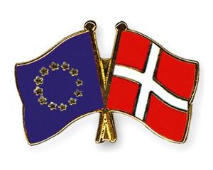 Freundschaftspins Europa-Dänemark
