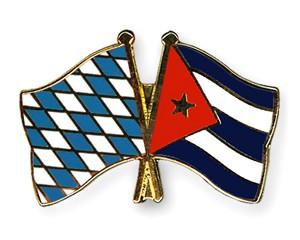 Freundschaftspins Bayern-Kuba