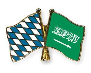 Freundschaftspins Bayern-Saudi-Arabien