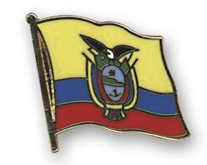 Flaggen-Pins Ecuador