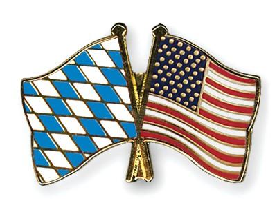 Freundschaftspins Bayern-USA