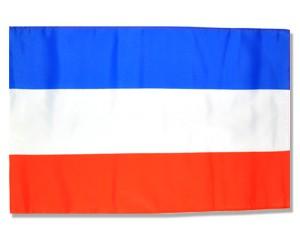 Stock-Flagge Serbien und Montenegro Sonderposten