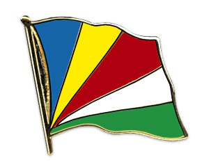 Flaggen-Pins Seychellen