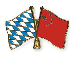 Freundschaftspins Bayern-China