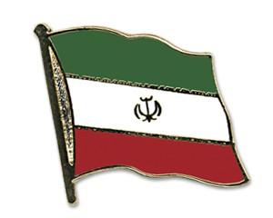 Flaggen-Pins Iran