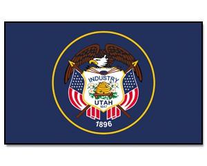 Flagge Utah